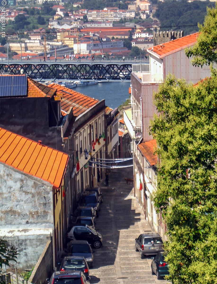 Португалия. Улицы Порту
