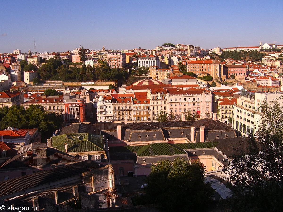 Вид на Лиссабон