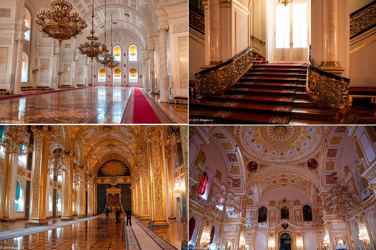 Интерьеры Большого Кремлевского дворца