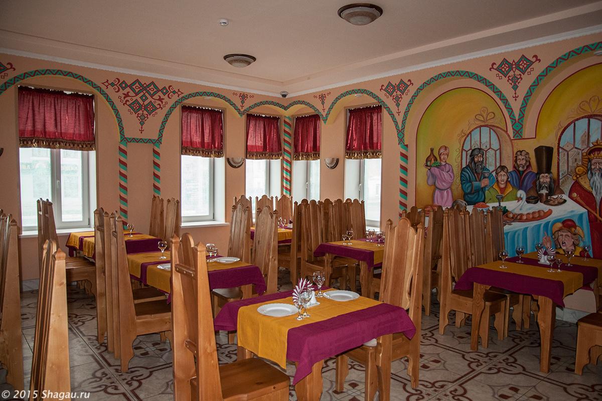 В ресторане Иван Царевич