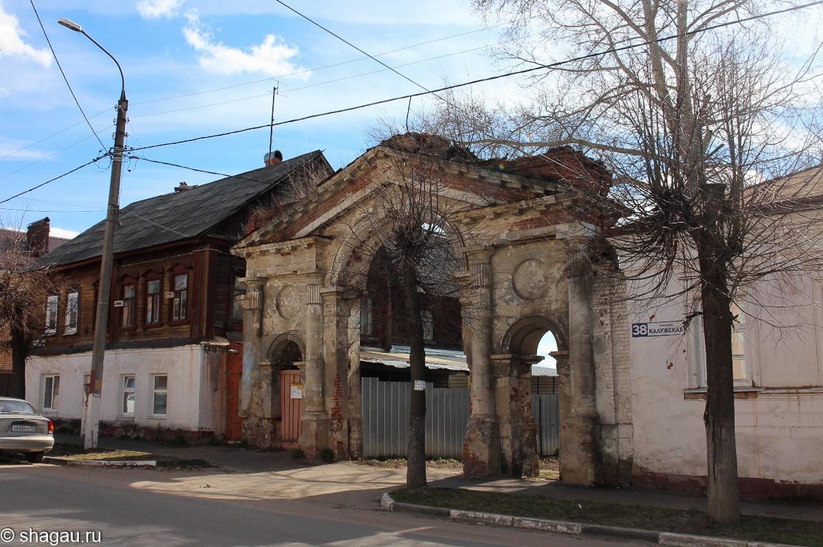 Ворота Распятского монастыря
