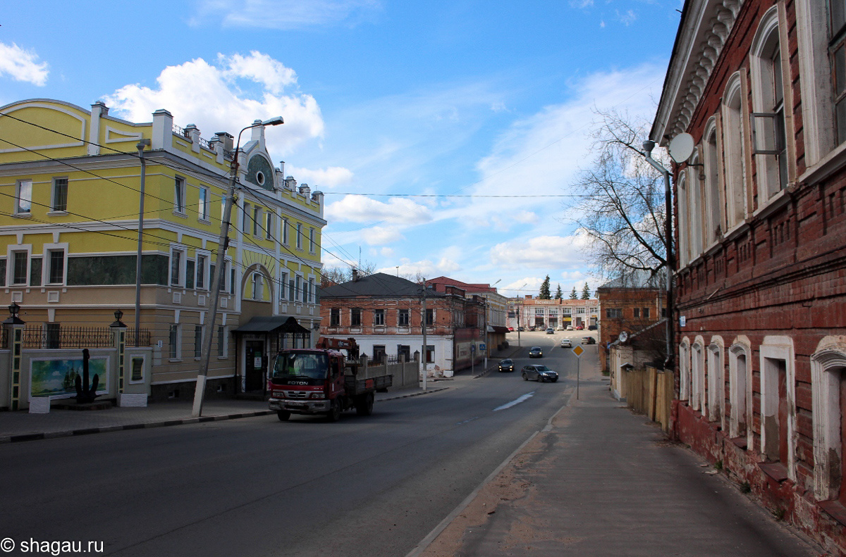 На улицах Серпухова