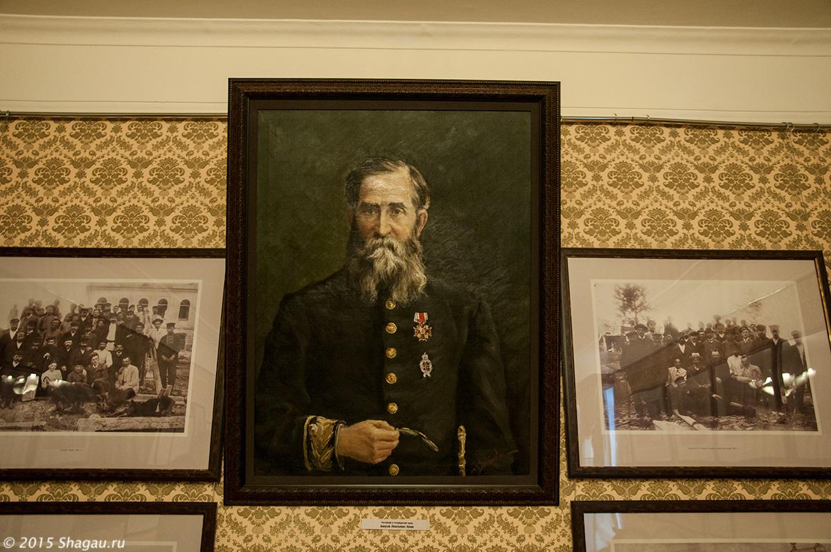 Портрет А.Л. Кекина