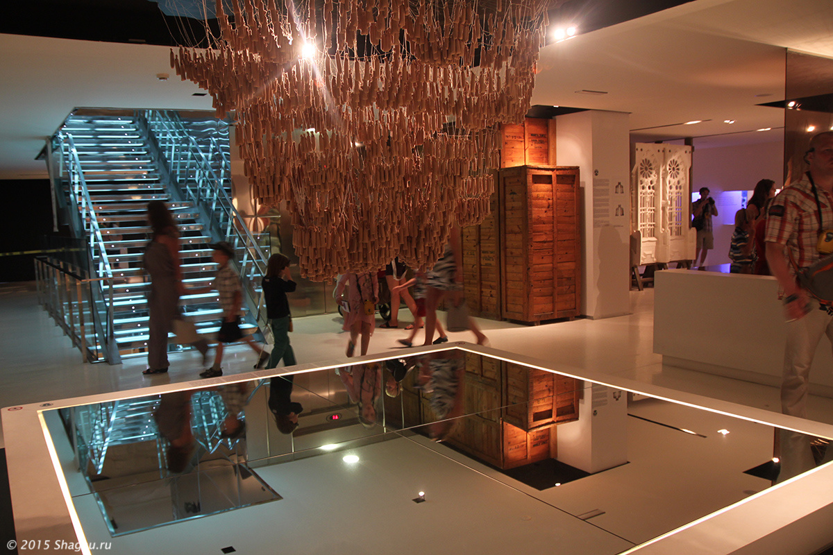 Фото из музея Гауди в Реусе