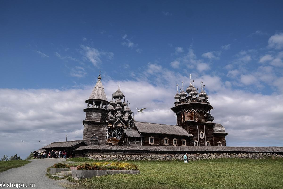 Спасо-Преображенская церковь Кижи