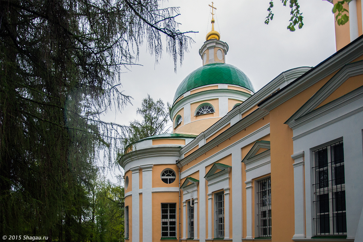Церковь Рождества Богородицы в Льялово