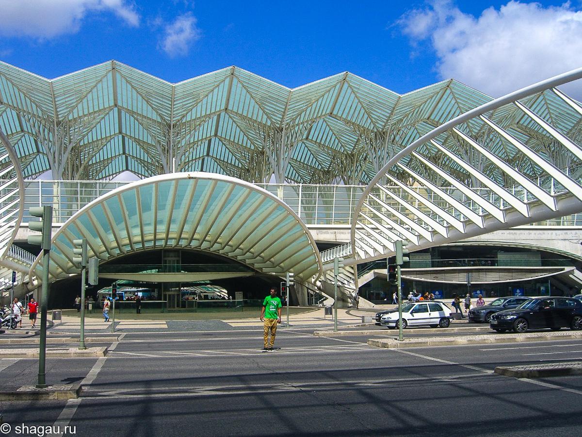 Вокзал Ориенте в Лиссабоне