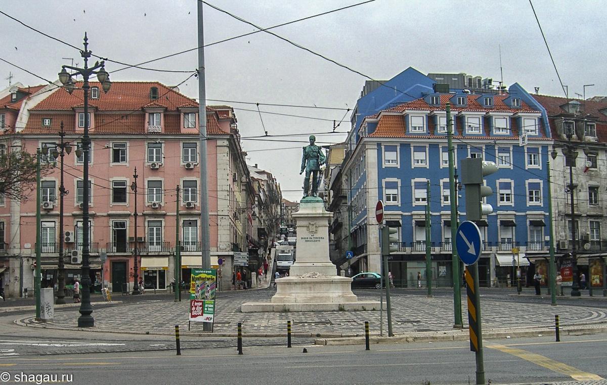 площадь герцога Терсейра