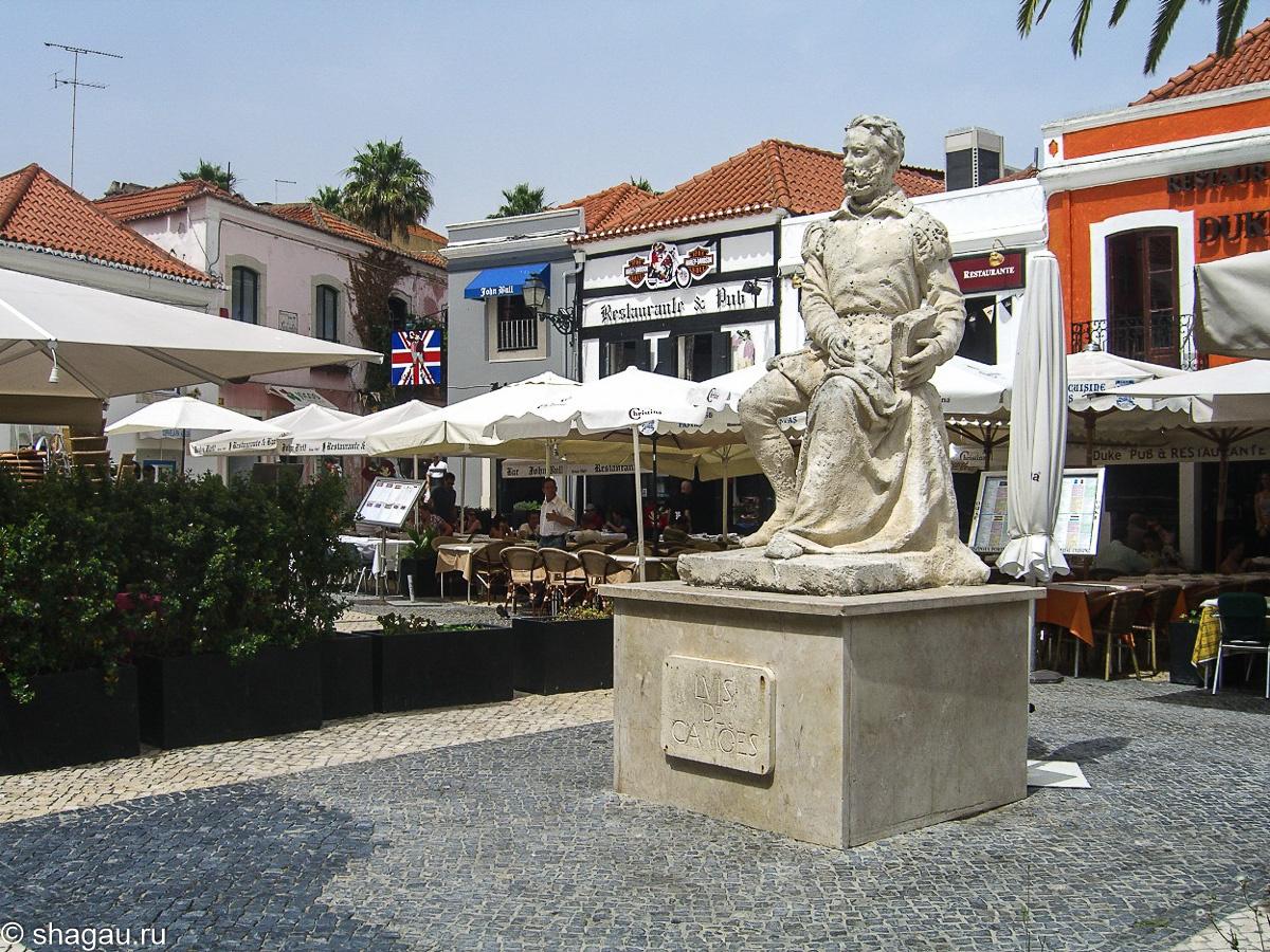 памятник камоэнсу в кашкаише