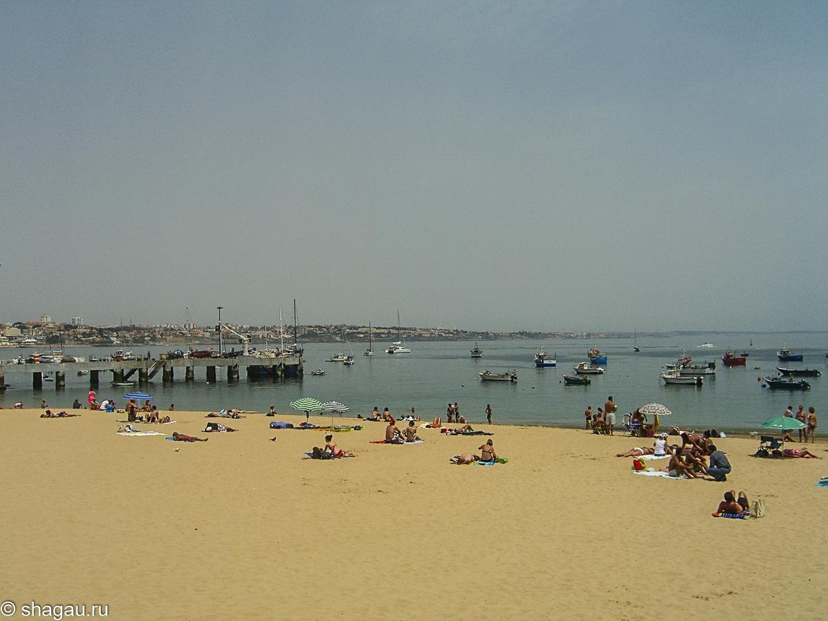 Центральный пляж Кашкаиша
