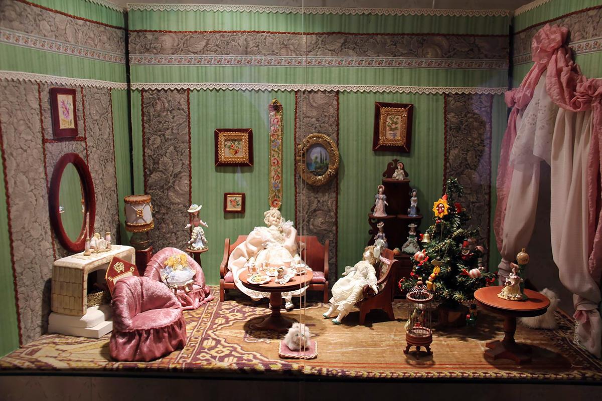 Кукольный домик. Фото: Дарина Федорова-Землянская