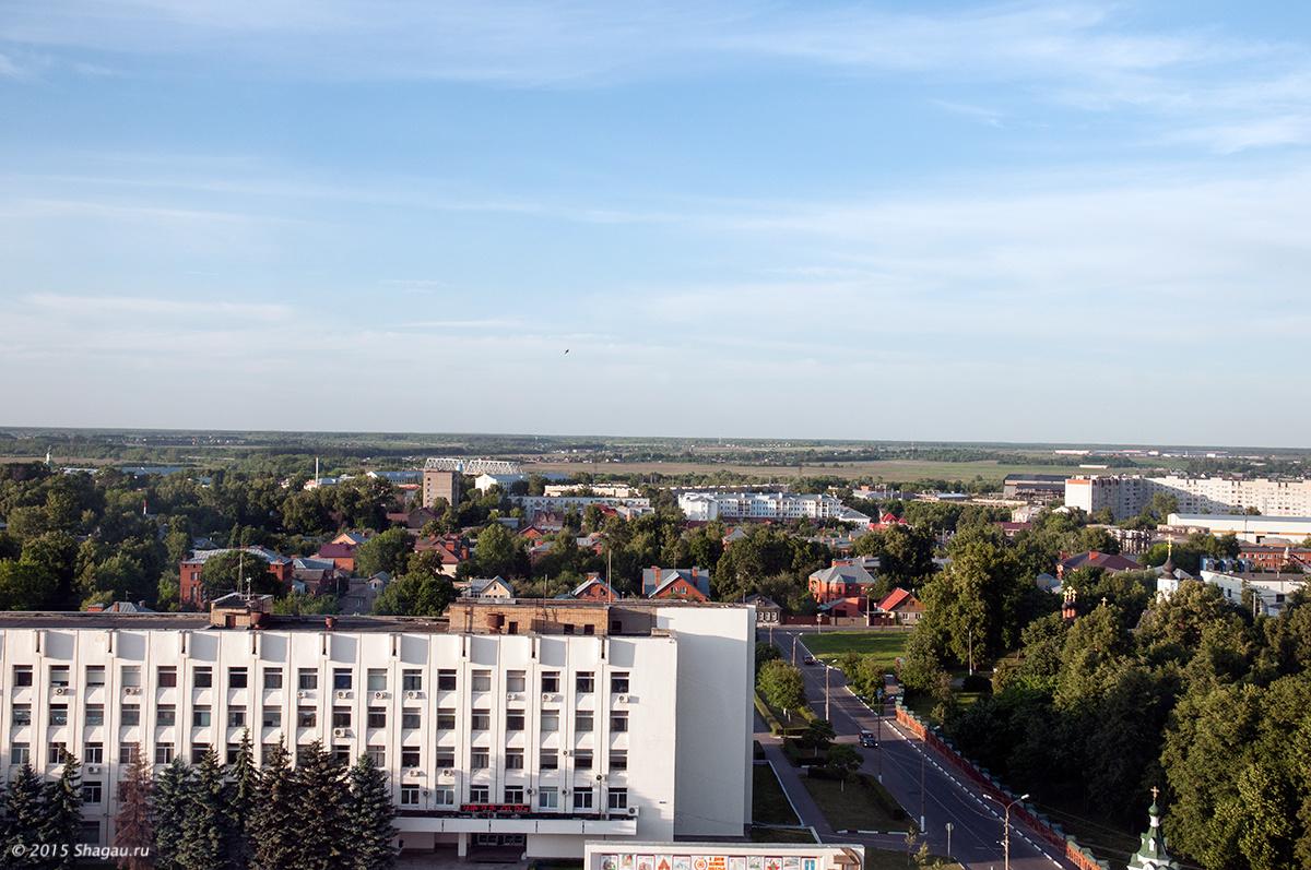 Вид из гостиницы Коломна