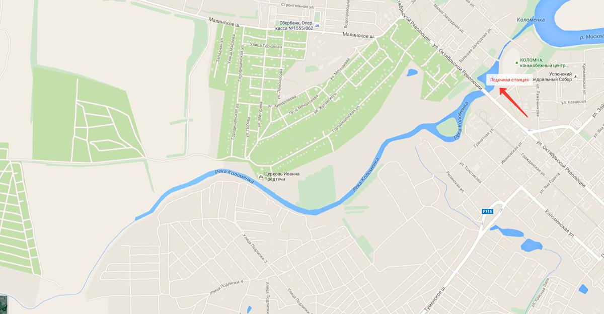 Река Коломенка