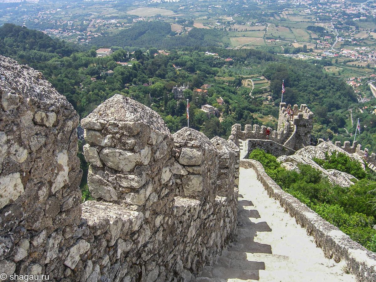 Стена замка мавров