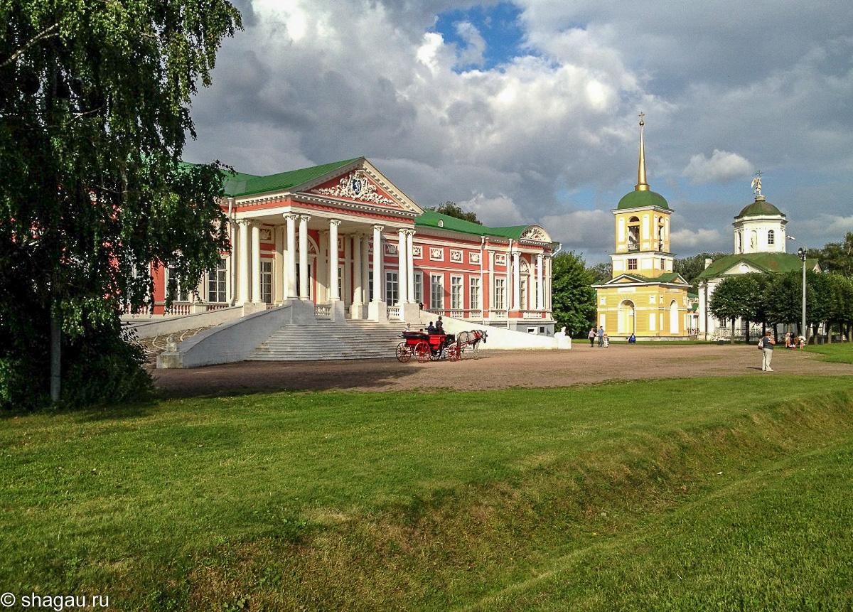 Усадьба Кусково. Дворец
