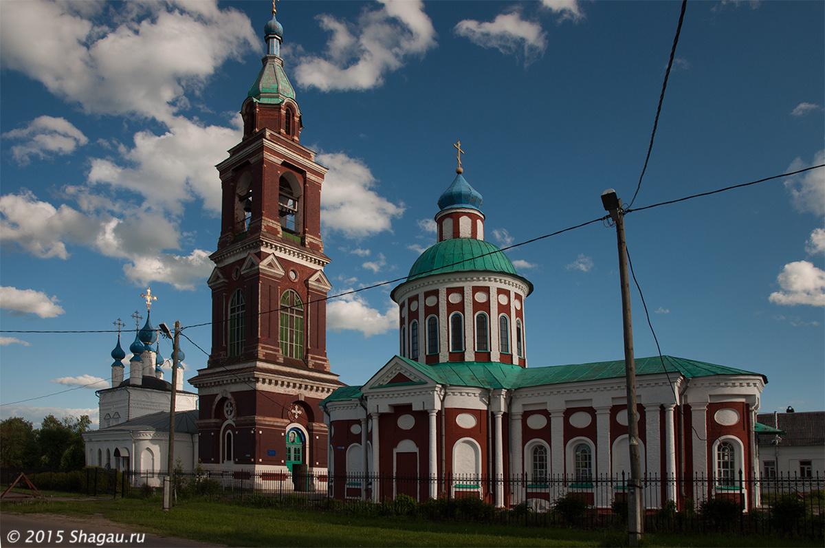 Покровская и Никитская церкви