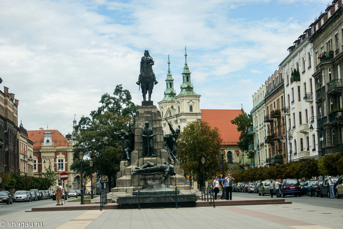 Памятник королю Владиславу Ягелло