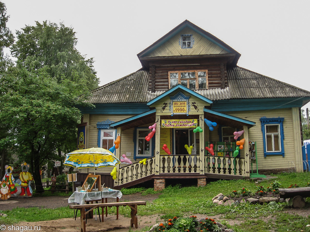 Музей Мыши украшен в честь дня своего рождения