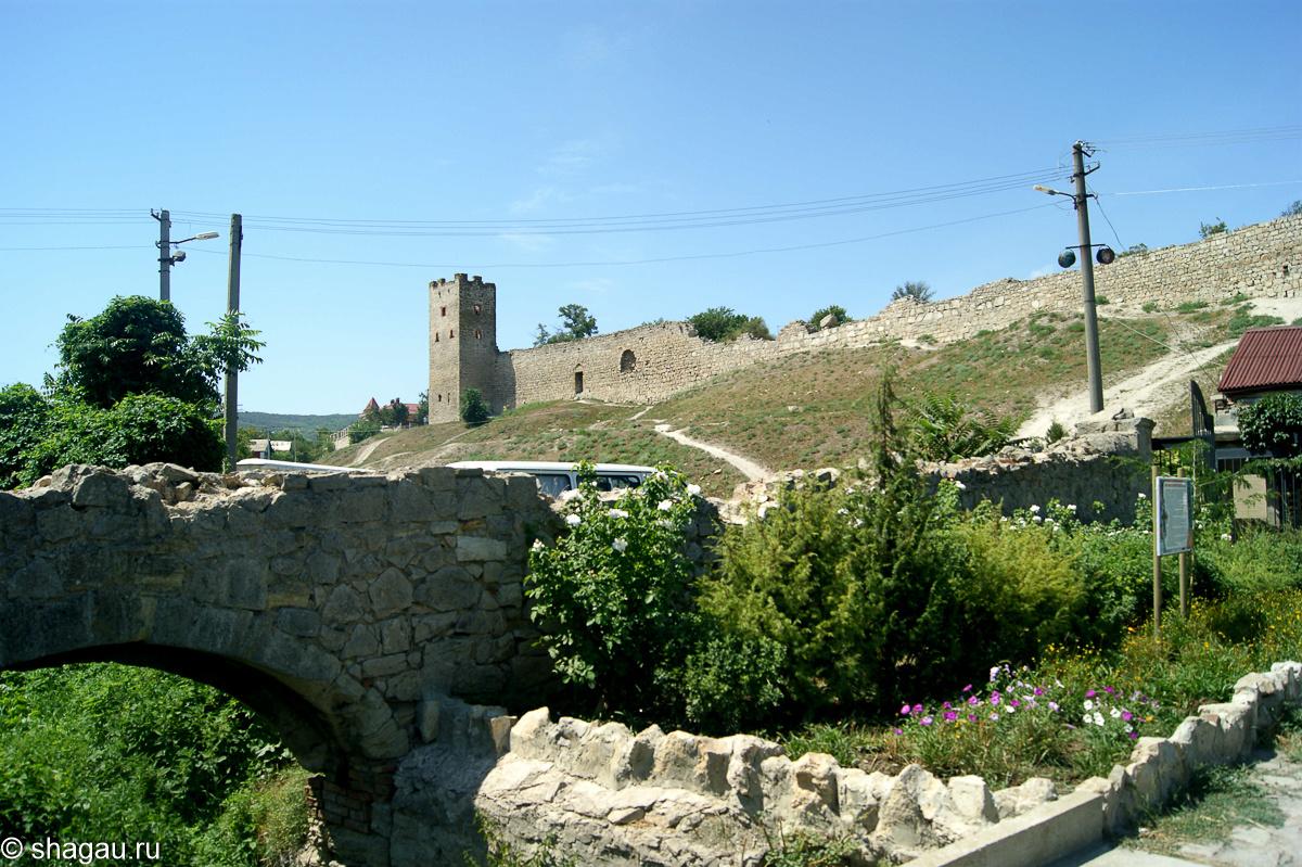 Старая Феодосия. Крым