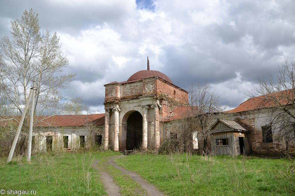 Усадьба князя А.Б.Куракина (Надеждино) в Пензенской области
