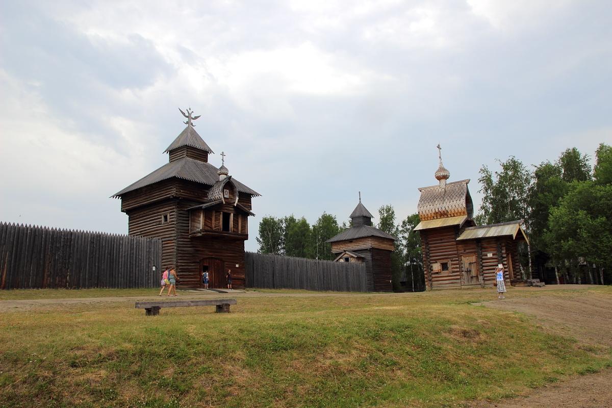 Тальцы на Байкале