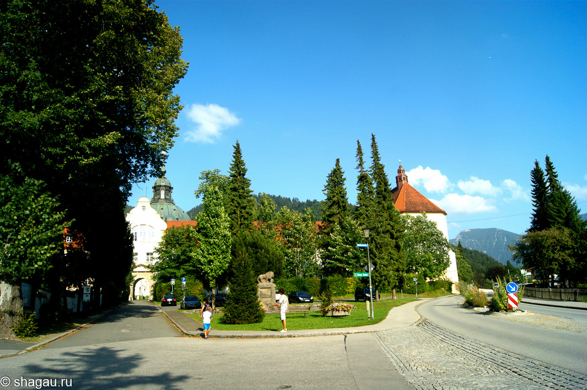 Бенедиктинский монастырь Этталь в Баварии