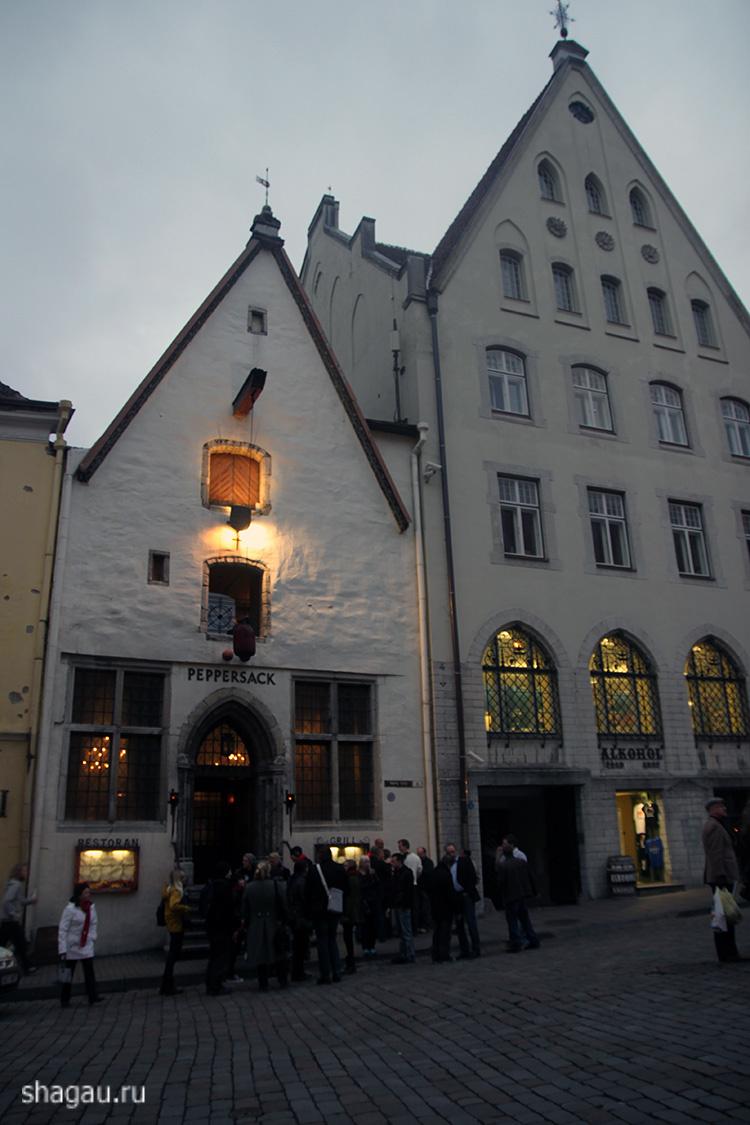 Нижний Старый город Таллин