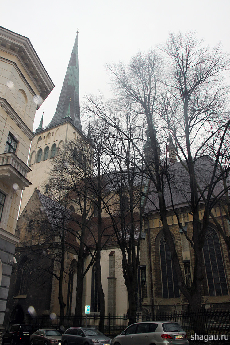 Верхний Старый город Таллин