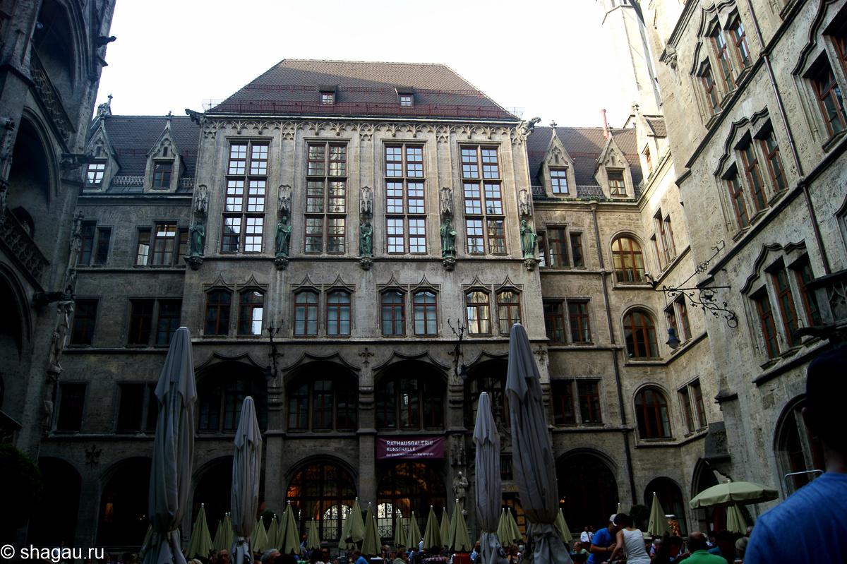 Мюнхен. Мариенплац