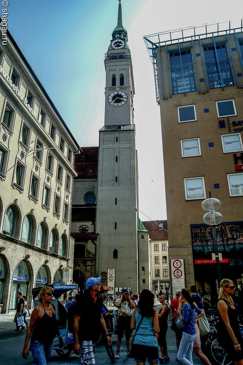 колокольня собора Святого Петра (Петерскирхе)