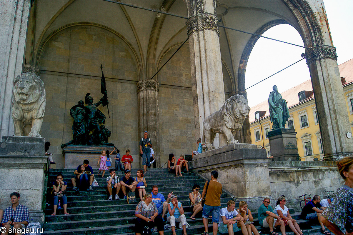 Мюнхен. Старый город