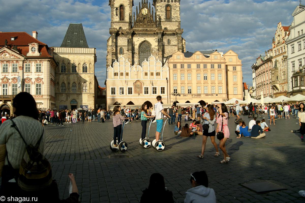 Прага. Староместская площадь
