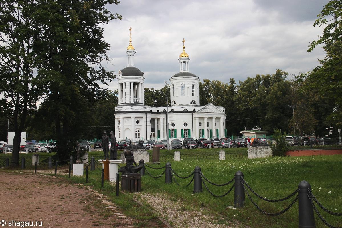 Церковь Влахернской иконы Божьей матери
