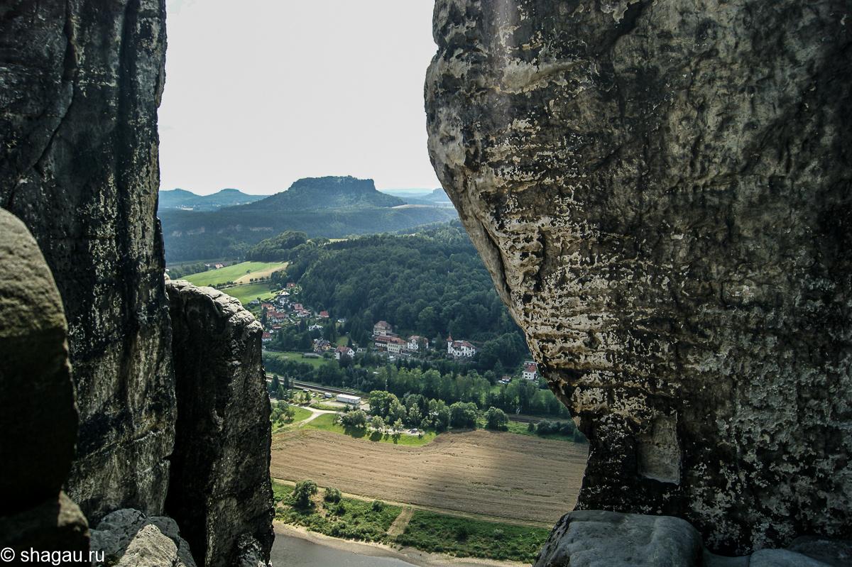 Бастай. Саксонская Швейцария