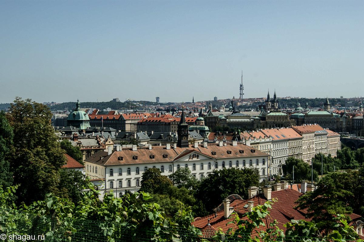 Виды на Прагу с королевских виноградников