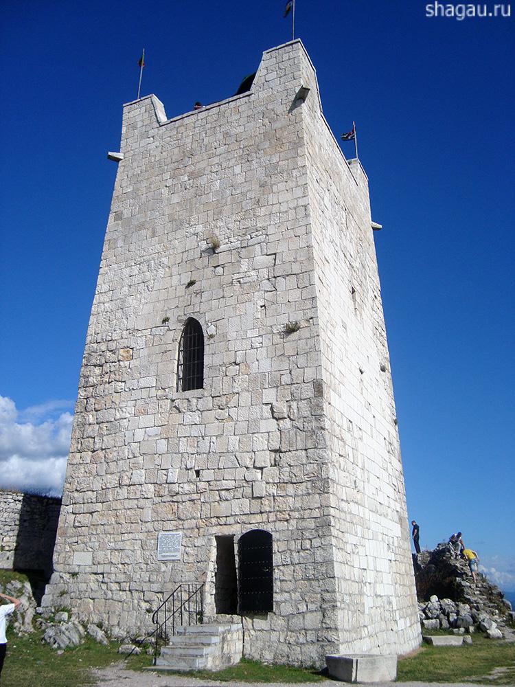 Анакопийская крепость Абхазия