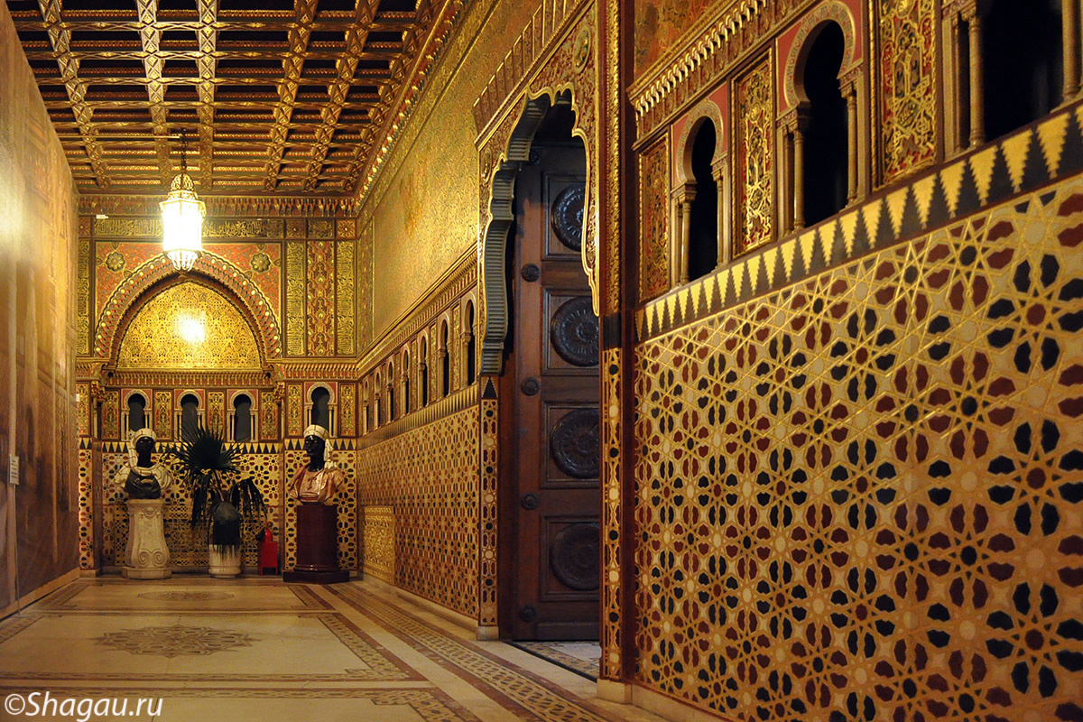 Мавританская гостинная