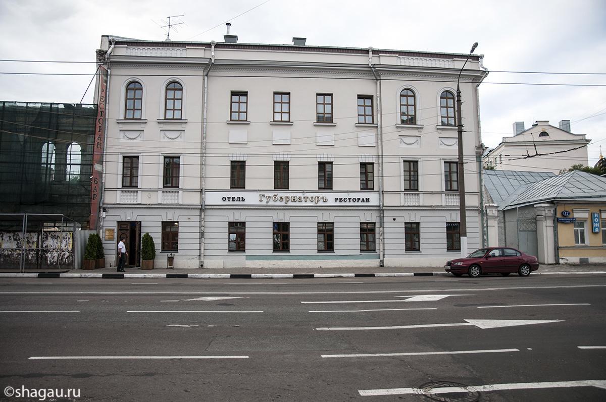Отель Губернатор. Тверь
