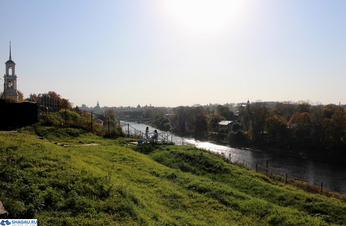 Вид на Торжок