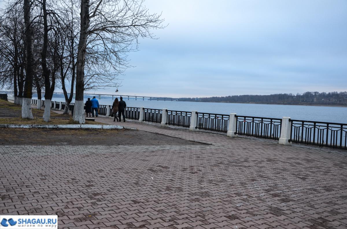 Старая пристань Кострома