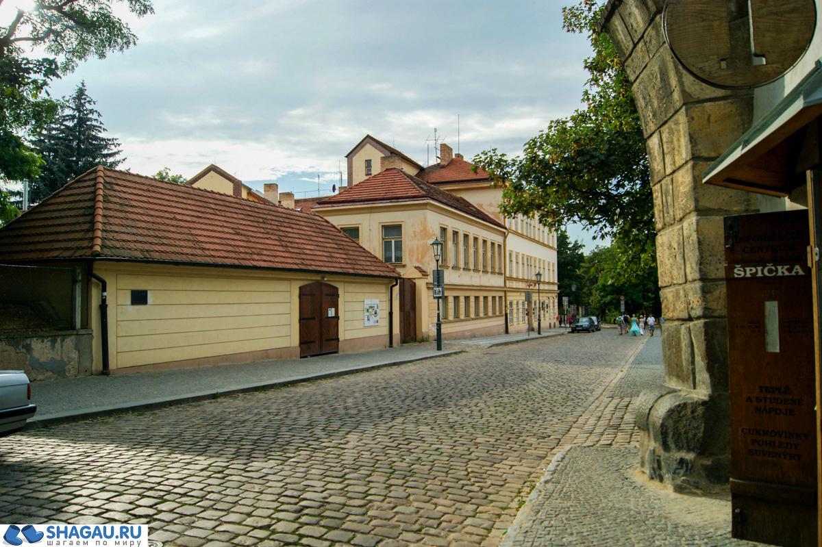 Прага. Вышеград
