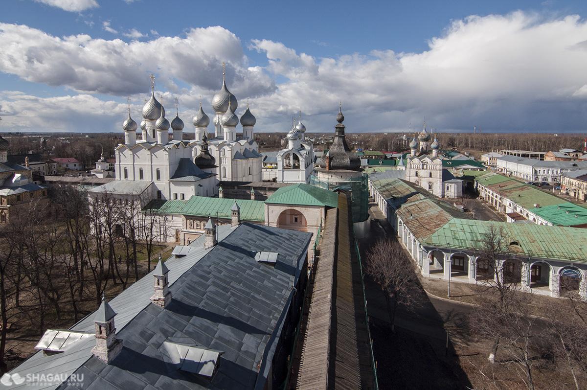 Вид на Кремль с Водяной башни