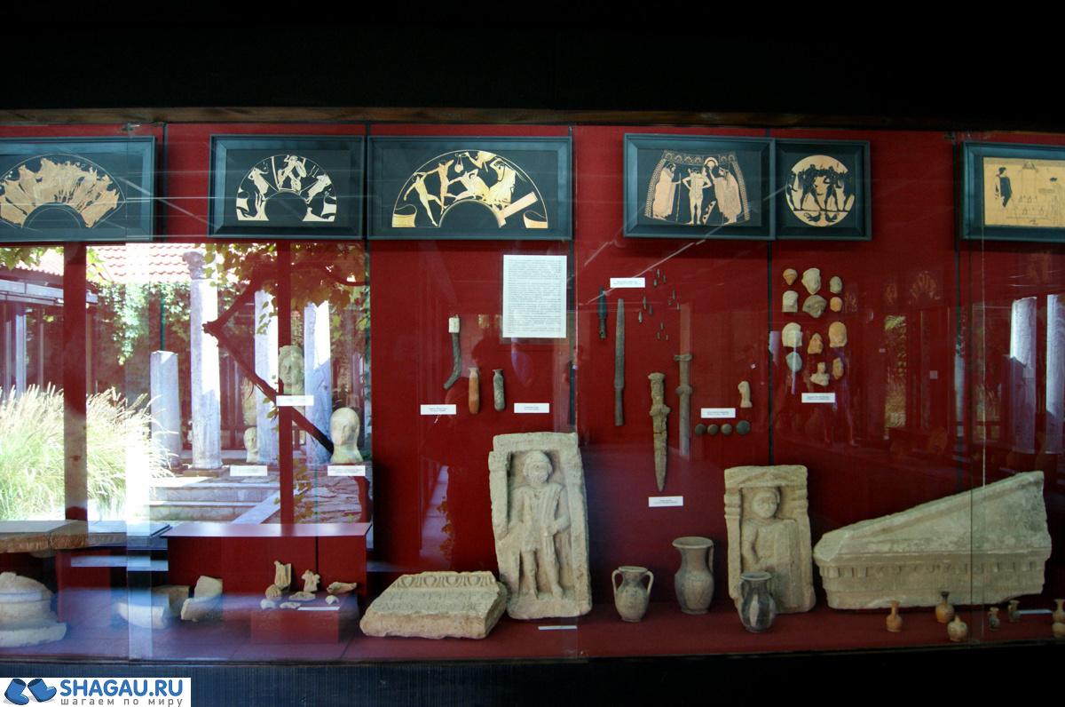 Археологический музей. Тамань
