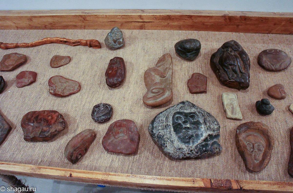 Работы на камне