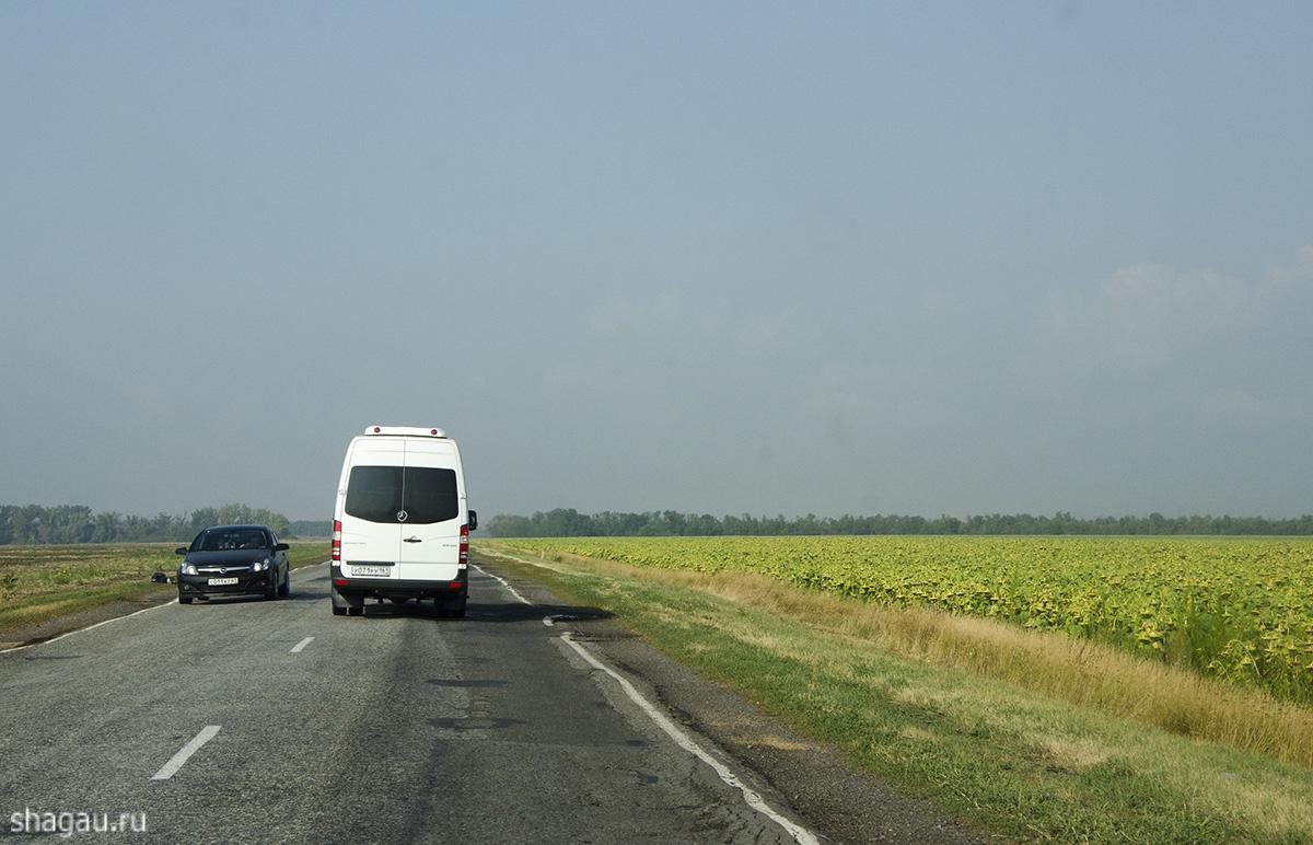Дорога в Геленджик