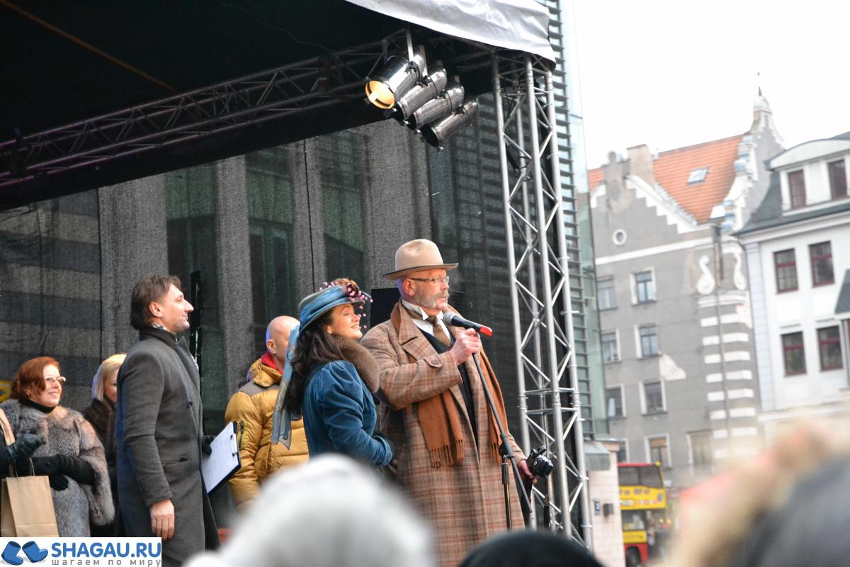 Праздник в честь Шерлока Холмса в Риге