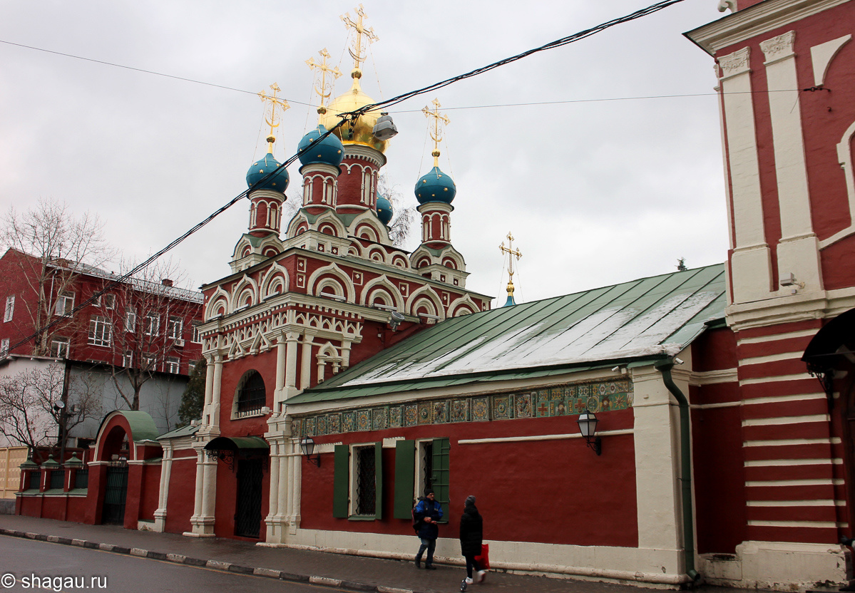 Успенский храм на Гончарной улице