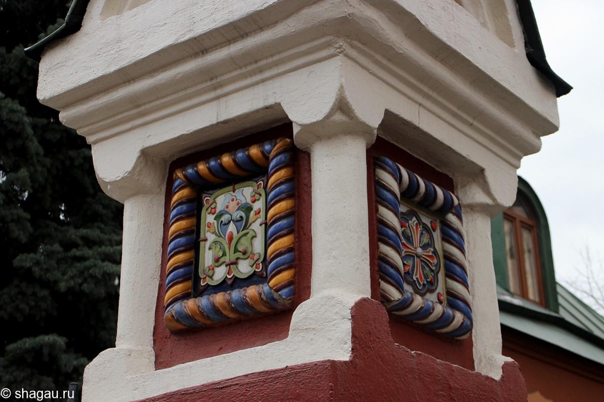 Изразцы храма