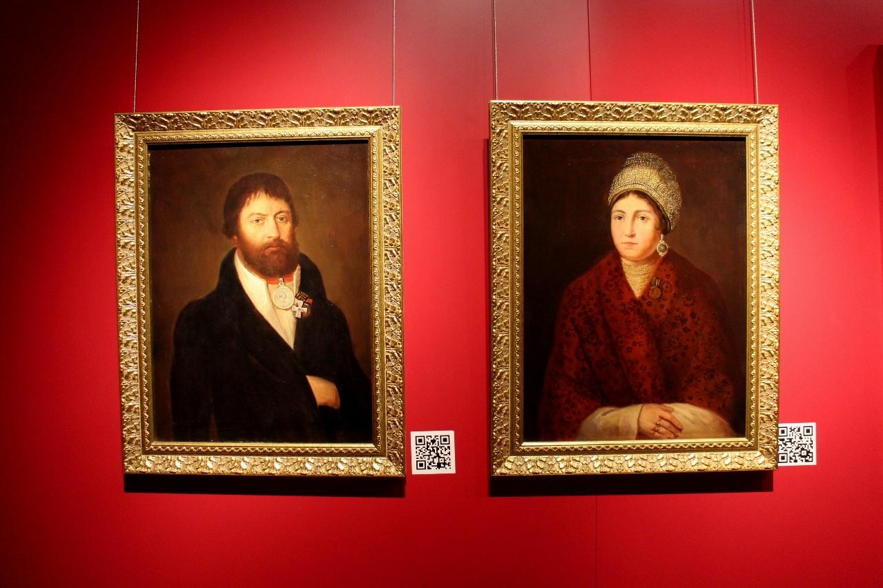 Портреты Курина и Кожиной