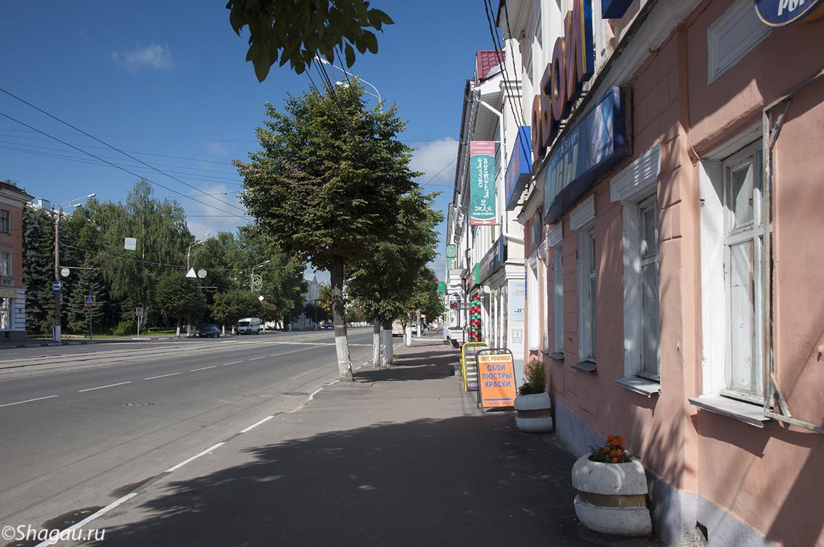 На улицах Твери